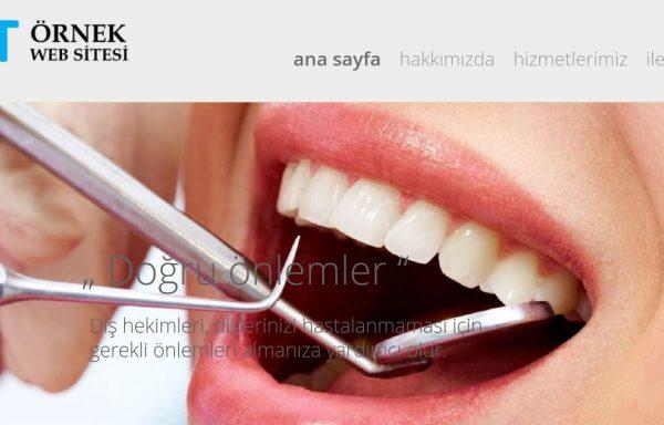Diş Hekimi Web Sitesi 06